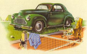 Simca 6 uit 1948